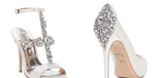 De mooiste glitter trouwschoenen