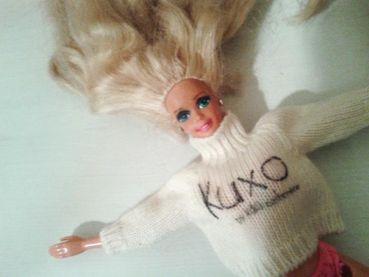 Barbie with Kuxo' www.kuxo.it