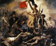 Liberty Leading the People (28th July 1830) 1830  by Eugene Delacroix