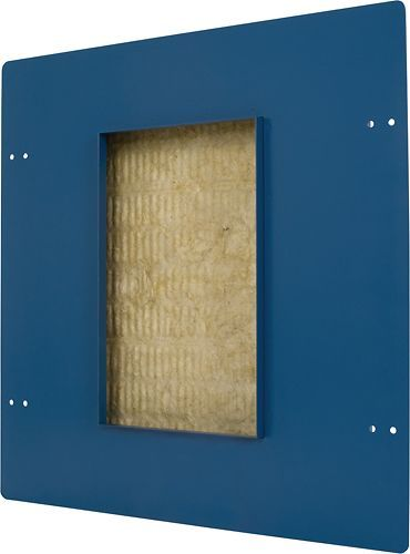 17 best ideas about in wall speakers add block speakercraft in wall speaker enclosure dark blue