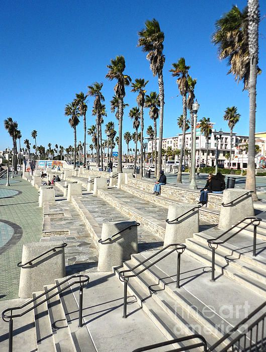 Huntington Beach Photograph  Miss sitting here reading for hours!!! Can't wait to get back.