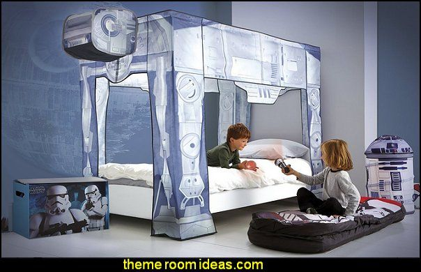Star Wars Bed Canopy Star Wars Bedrooms Star Wars Furniture Star Wars Wall Murals Star Wars Wall Decals Star Wars Bed Star Wars Room Decor Star Wars Room