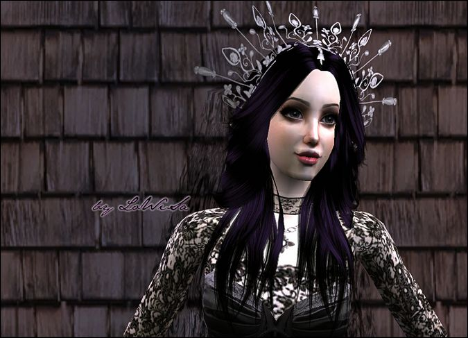 Contessa Abigail Cleeves, the Vampire Bride is by LoWiSa can be found in Gifts from Treasured Friends. #Sims2 #downloads