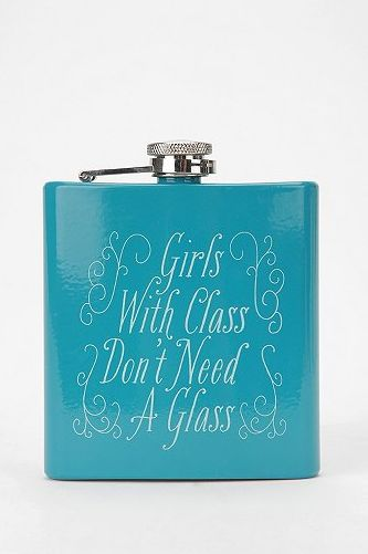 Funny Flask for girlfriends