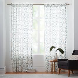 Colordrift Mandy Grommet Top Room Darkening Window Curtain Panel