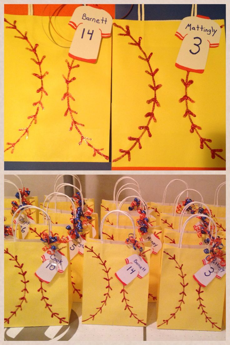 Senior night or sectional bags
