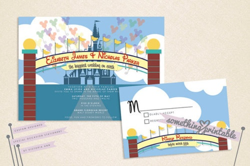 Walt Disney World Wedding Invitations Even If I Dont Get Married In These WILL Be My