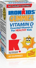 All natural Vitamin D Gummies for kids!