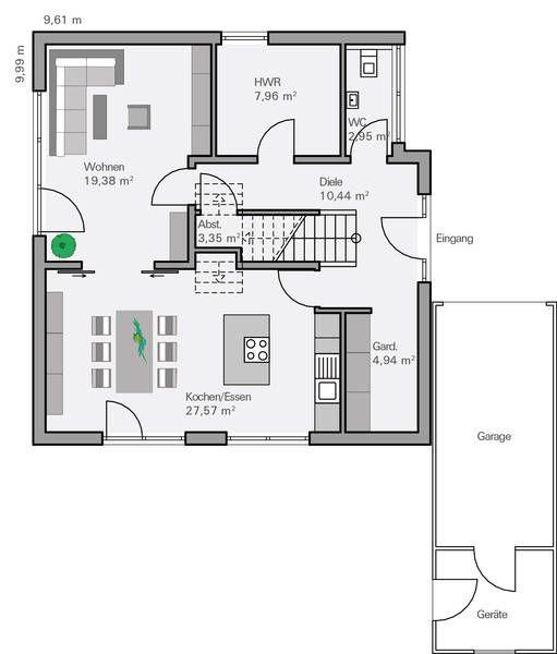 Die 25+ besten Ideen zu Grundriss Einfamilienhaus auf Pinterest ...