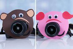 Wie macht man, dass Kinder auf Fotos lachen? Mit nem Schweinchen!  #Fotografie #Weihnachten #Personello #DIY