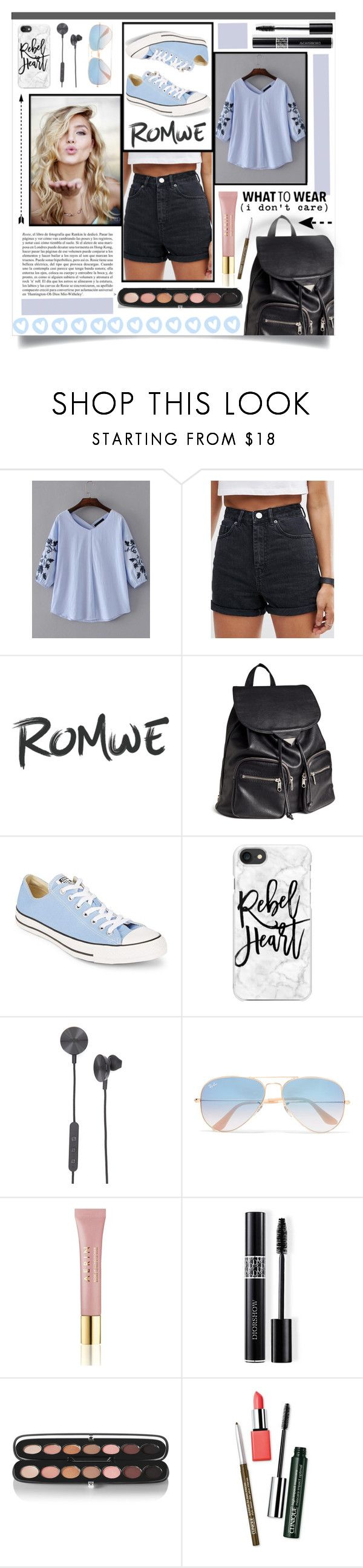 """Untitled #60"" by alyssa-1221 ❤ liked on Polyvore featuring ASOS, H&M, Converse, Casetify, i.am+, Ray-Ban, Whiteley, AERIN, Christian Dior and Marc Jacobs"