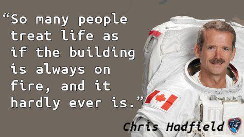 Chris Hadfield - Fire