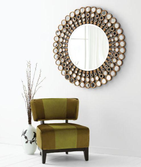 Full circle mirror from Cyan Design