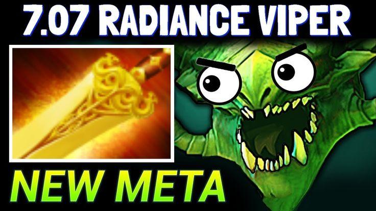 RADIANCE VIPER - DOTA 2 PATCH 7.07 NEW META PRO GAMEPLAY