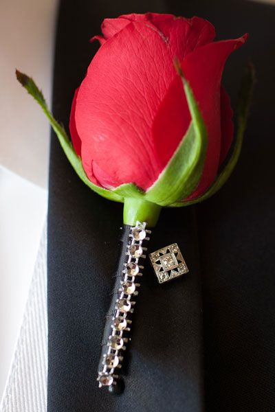 Love the jeweled stem of this.  Red Wedding Theme | Wedding Planning, Ideas & Etiquette | Bridal Guide Magazine