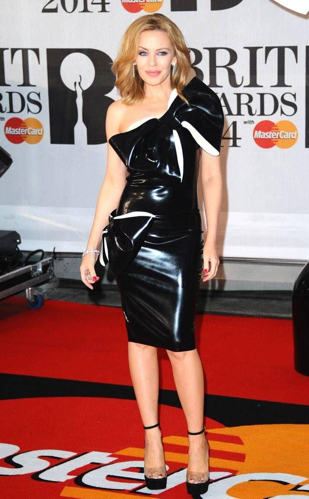 Kylie Minogue from 2014 Brit Awards The Aussie star looks