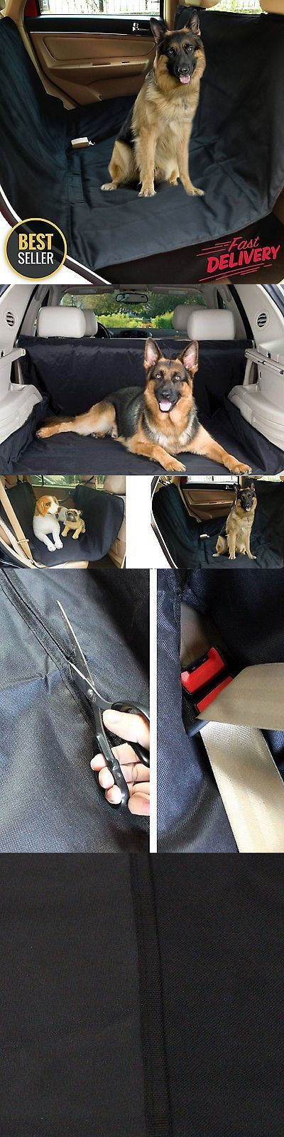 SUVs: Pet Car Suv Van Back Rear Bench Seat Cover Waterproof Hammock For Dog Cat New -> BUY IT NOW ONLY: $12.99 on eBay!