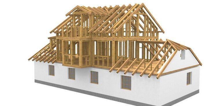 werkplanung einer aufstockung in holzriegelbauweise arbeitsvorbereitung werkpl ne von holzbau. Black Bedroom Furniture Sets. Home Design Ideas