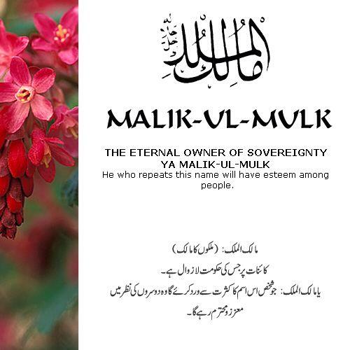 Malik-Ul-Mulk