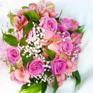 Hold My Hand Bridal Bouquet from Bunches Direct