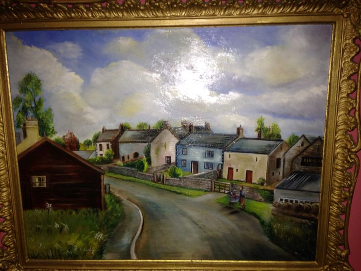 old painting of STAINTON