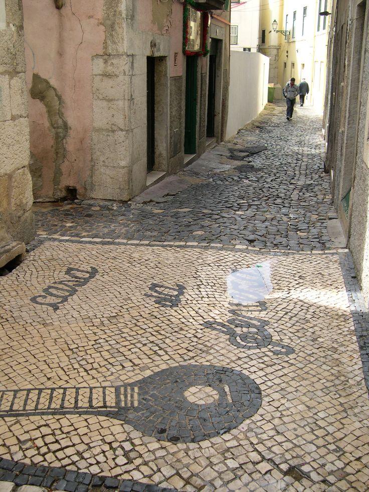 Calçada de Severa, Mouraria, Lisboa.
