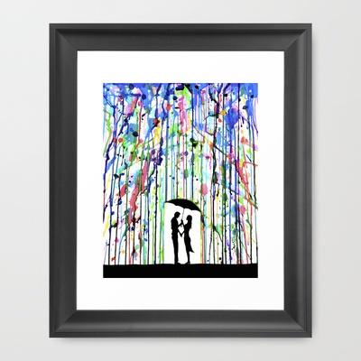 Love it !    Pour Deux Framed Art Print by Marc Allante