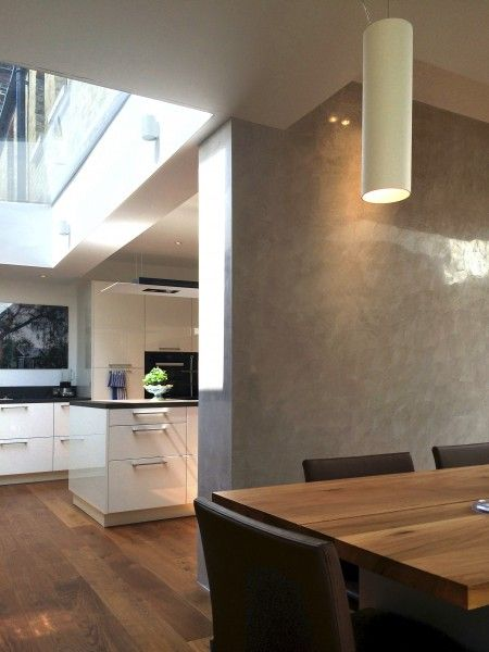 A Flushglaze fixed #skylight brings extra daylight into this private property in Richmond Park.