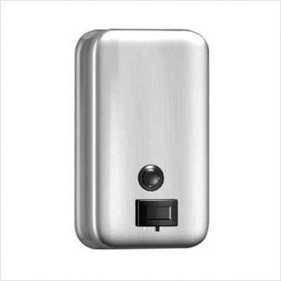 vertical powdered soap dispenser