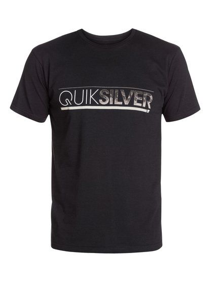 quiksilver, Classic Tee Single Player, ANTHRACITE (kvj0)
