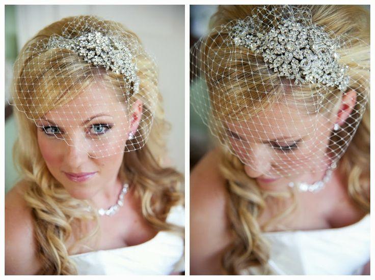 Vintage Tiara And Birdcage Veil Wedding Pinterest