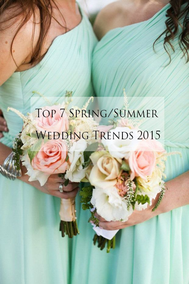 top 7 spring summer wedding ideas and trends 2015