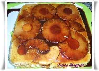 Tarta de Piña Fría - Hogar Bloguero  #BlogsLianxio