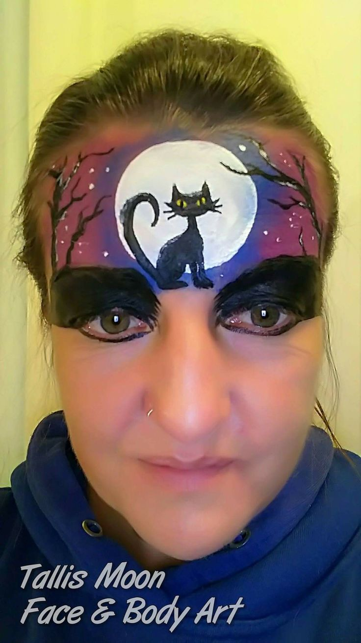 Funny face painting for kids creative art and craft ideas - Tinkerbell Makeup Halloween Face Happy Halloween Cheek Art Painted Faces Face Art Face Paintings Body Painting Paint Ideas