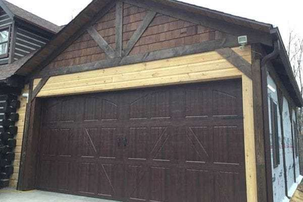 Custom 1x8 Eastern White Pine Chink Joint Siding To Match Existing Logs On Home Home Design Renovate Diy Pine Easternwhitepine Logh Garages Log H