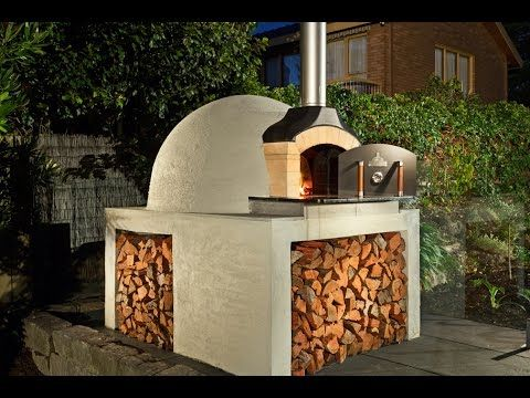 Pizza oven (Horno de leña y gas) - YouTube
