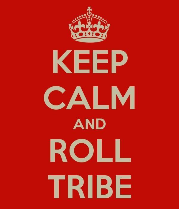 Twitter / WGFinn: #KCRT KEEP CALM AND ROLL TRIBE ...