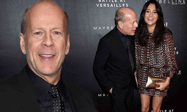 Bruce Willis and Emma Heming are dotty about each other in NYC