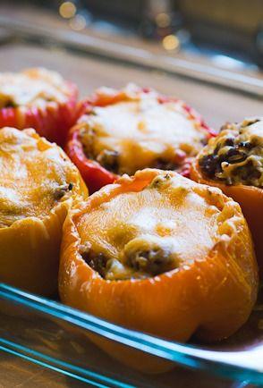 The Best Stuffed Peppers Recipe!