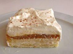 Beste Kuchen: Apfelmus - Kuchen vom Blech