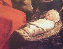 So wurden Babys bis Ende des 19. Jahrhunderts gewickelt.   Habsburger, Wien, Kindererziehung, Säuglinge, Babys, Wickelkissen, Steckkissen, Wickeln (Kind) – Wikipedia