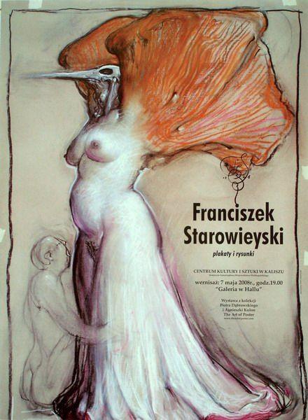 Starowieyski - Posters and Drawings Starowieyski Plakaty i Rysunki Starowieyski Franciszek Polish Poster