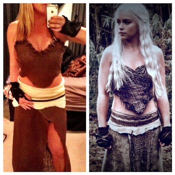 Game of Thrones Khaleesi Dothraki Halloween...if i ever get thin enough...and blonde enough lol
