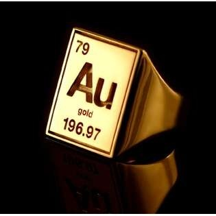 15 best au images on pinterest periodic table cheer dance and periodic table gold ring urtaz Choice Image