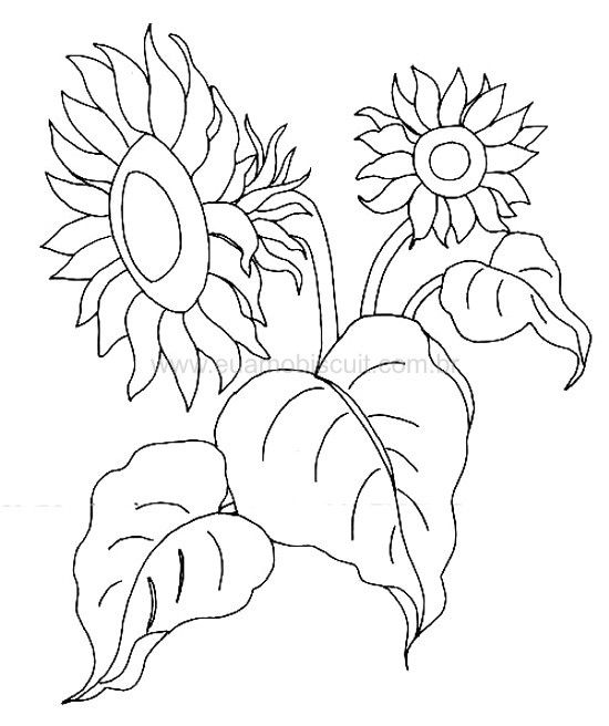 250 Best Sunflower Embroidery Patterns Images On Pinterest