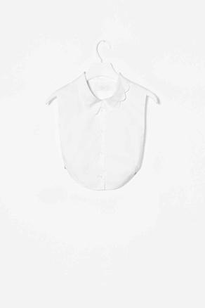 COS mock shirt collar
