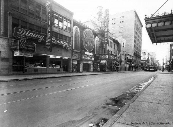 Rue Sainte-Catherine, 1946,VM95-Y1-1A