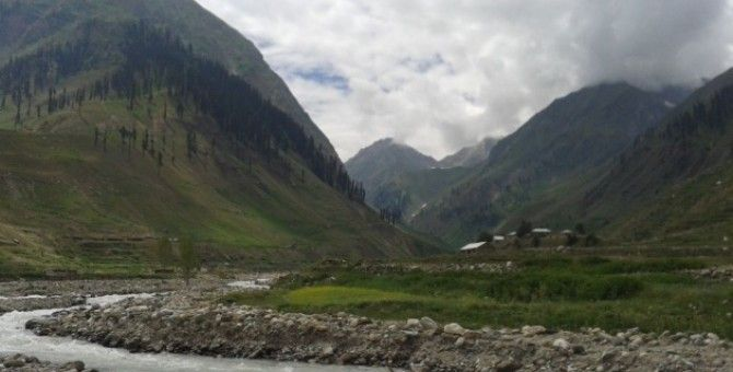 On Earth, such as paradise like Narran Valley..
