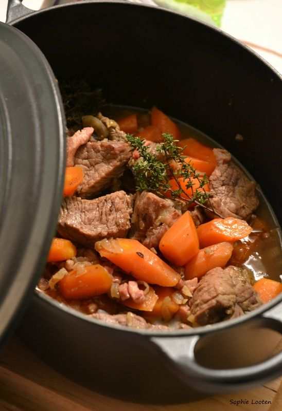 Boeuf à la mode (ou Boeuf carottes)