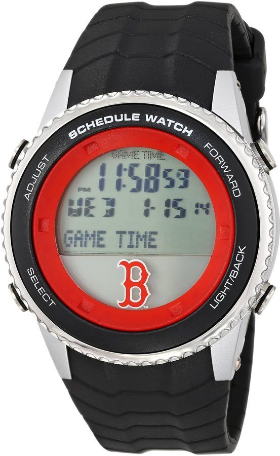 Game Time Men's MLB-SW-BOS MLB Schedule Series Boston Red Sox Watch